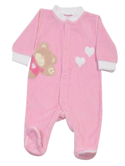 DORS BIEN PREMA VELOURS LITTLE BEAR ROSE