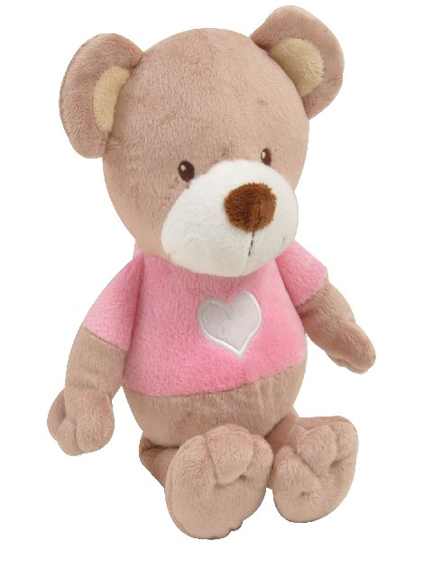 PELUCHE OURS 28CM LITTLE BEAR ROSE
